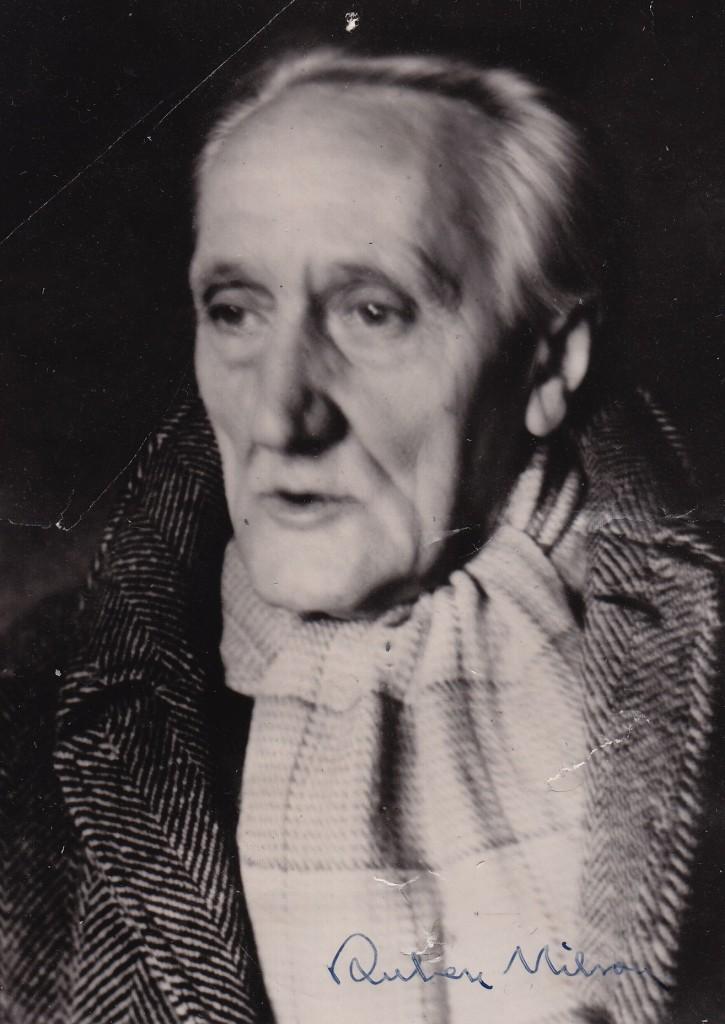 Ruben Nilson, visdiktaren, konstnären och plåtslagaren.