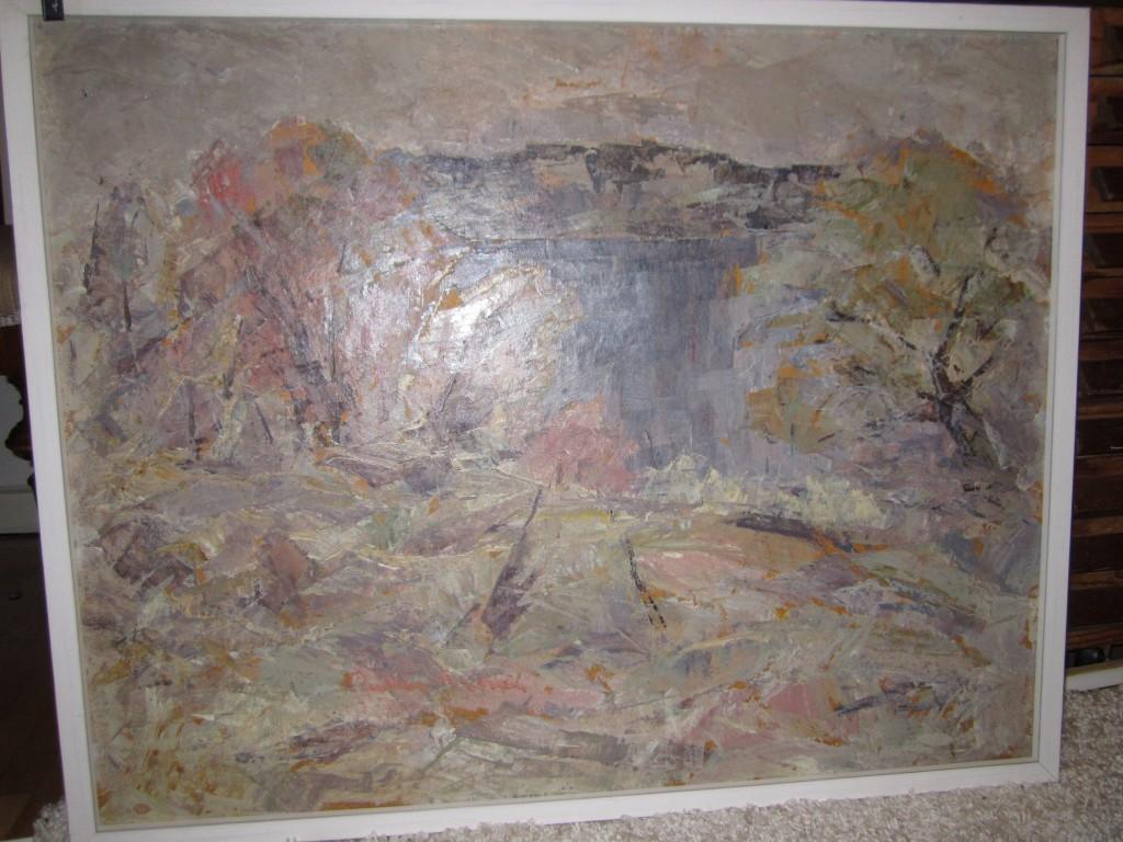 Olja, signerad, 8800 kr - SÅLD 2012